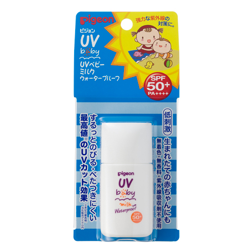 UVベビーミルク ウォータープルーフSPF50+・PA++++ 20g